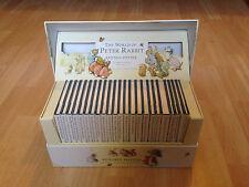 The World of Peter Rabbit Collection Boxset Beatrix Potter 23 Hardback Books