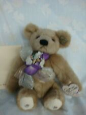 """ANNETTE FUNICELLO """"TIZZIE THE TEA CUP BEAR"""" - NEW"""