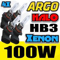 Hb3 Halogen Headlight Bulbs 100w Clear High Main Beam 9005 12v Hid Bright 4x 12v