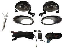 Honda Crv 2010-2012 Fog Lamp Light With Chrome Trim Kit Exterior Accessory