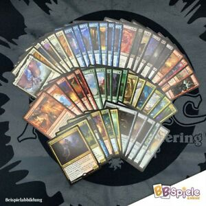Magic: The Gathering 50 Rares (seltene Karten) Sprache Englisch