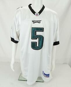 Reebok NFL On Field Donovan McNabb #5 Philadelphia Eagles Jersey White Size 52