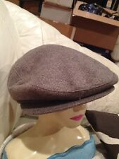 Vintage Union Label USA Newsboy Cabbie Hat XL