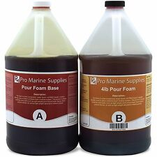 Pour Foam 4 LB Density - Liquid Urethane Insulation Marine Grade - 2 Gallon Kit