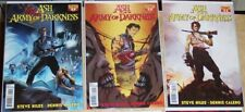 Ash And The Army Of Darkness Evil Dead Horror Comic 9 Issue Lot Sam Raimi