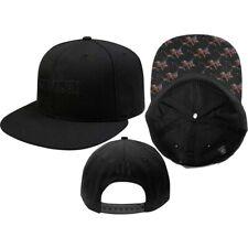 Baseball Cap Iron Maiden Black Logo Snapback   106559 #