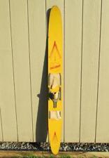 """Vintage 1950s Challenger Wood Slalom Water Ski 68"""" Water Skiing Great Display!"""