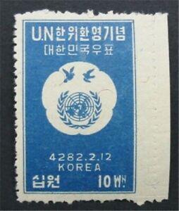 nystamps Korea Stamp # 95 Mint OG NH    S24x652