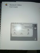 Apple Macintosh Utilities User Guide