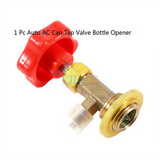 1Pc Car R134a Air Refrigerant AC Can Tap Valve Bottle Opener Tool W/ Red Cap GLF