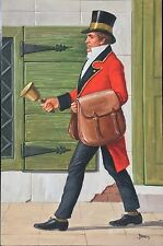 John Berry original Ladybird People at Work The Postman picture No 8 1965