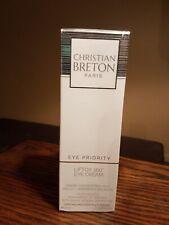 New & Sealed Christian BRETON Eye Priority Liftox 360° Eye Cream 0.45 fl oz