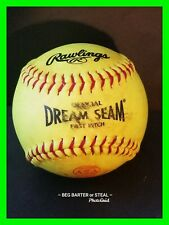 Rawlings Official ASA Dream Seam Fastpitch Softball SOFT BALL Softball 12""