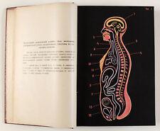 1923 Imperial Russian BOOK OF ZOOLOGY and Anatomy illustrated Gliksman Зоология