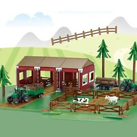 Farm Animals and Tractor for Toddlers Farm Toys Set