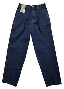 Knightsbridge Men/Boys Size W29 L30 Blue Dark Wash Denim Pants NWT Straight