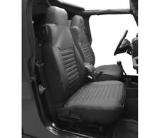 Bestop Seat Cover for Front High-Back Seats 97-02 Jeep Wrangler Black #29226-15
