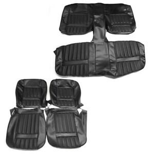 Ford XY Falcon GT GS Fairmont Interior Upholstery Front & Rear Seat Covers Set