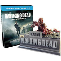THE WALKING DEAD 5ª TEMPORADA BLURAY + FIGURA LIMITADA NUEVO PRECINTADO