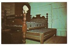 Trundle Bed Rutledge Tavern Lincoln's New Salem State Park Illinois Postcard