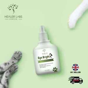 Eye Drops for Pets - Bacterial, Viral, Fungal & Infections - Dogs,Cats,All 30ML