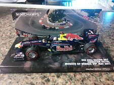 1:43 Red Bull Racing-Renault RB7 Sebastian Vettel - 2011 Monaco GP Winner Ltd Ed