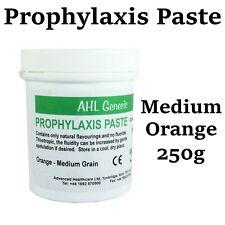 Dental Prophylaxis Prophy Paste Teeth For Polishing Stain Removal Medium Orange