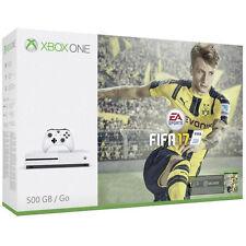 Microsoft Xbox One S FIFA 17 Bundle 512GB Weiß Spielekonsole