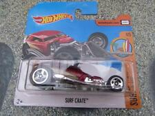Hot Wheels 2017 #100/365 SURF CRATE burgandy Surf's up