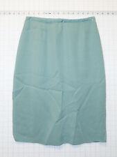 Dana Buchman Silk sz 6 Womens Light Mint Green Career Office Skirt C0395