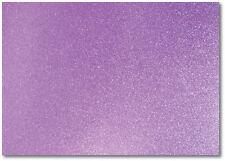2 x A4 Fogli Di 220gsm Premium Dovecraft LILLA GLITTER CARD