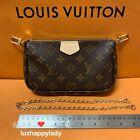 LOUIS VUITTON Multi Pochette Accessoires Monogram Chain Shoulder Bag GIFT 2021