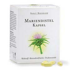 Sanct Bernhard Mariendistel-Kapseln | für Leberentgiftung & Verdauung | 90 Stück