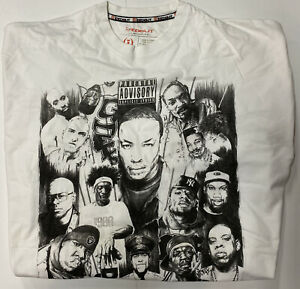 Parental Advisory RAP Graphic Tee Shirt Men's 3XL Icedout Bold Tupac Dre Biggie
