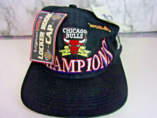 Vintage 1997 Logo Chicago Bulls Championship Snapback Hat Champions (deadstock)