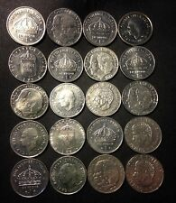 Vintage Sweden Coin Lot - KRONA - 20 High Grade Coins - Mixed Dates - FREE SHIP