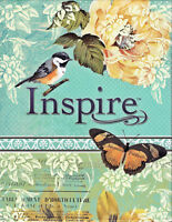 NEW Inspire Journaling and Coloring Bible NLT New Living Translation Hardcover