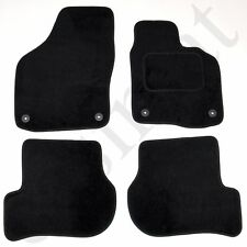 Fits VW Golf Mk6 2008-2013 Fully Tailored Carpet Car Mats Black 4pcs Floor Set