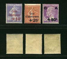 """FRANCE N° 255 """"CAISSE AMORTISSEMENT PASTEUR +50c S.1F50 CD """" NEUF xx TTB J254"""