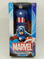 "Avengers Marvel Hasbro CAPTAIN AMERICA 6"" RARE Super Hero Action Figure & Shield"