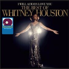 WHITNEY HOUSTON I WILL ALWAYS LOVE YOU BEST OF 2X VINYL NEW! LIMITED PURPLE LP