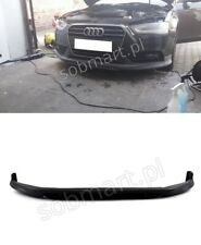 AUDI A4 B8 ABT-STYLE 2011-2015 before FL FRONT BUMPER LIP SPOILER TUNING