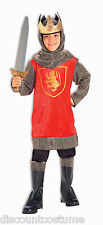 CRUSADER KING BOYS KNIGHT MIDDLE AGES HALLOWEEN COSTUME CHILD SIZE MEDIUM 8-10