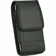 Heavy Duty Rugged Case Protective Cover Holster Side Clip + Belt Loop - Vertical