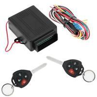 Universal 12V Auto Zentralverriegelung Keyless-Entry System zentrale Steuer SL#