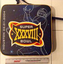 2004 Super Bowl XXXVIII 38 Seat Cushion 2003 New England Patriots Panthers