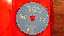 Avengers Age Of Ultron 3D Blu Ray Only W/Cover Art,Marvel,Disney