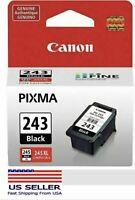 Canon PG-243 Black Ink Cartridge, Genuine, New-in-Box