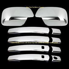 For 2008-2013 Nissan Rogue Chrome Mirror 4 Door Handles Covers Smart Kh