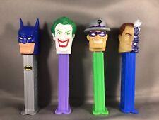 Pez Dispensers 2008 Super Heroes~Batman & Villains Collectors Set 4 piece